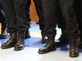 The county agency will employ at least 100 more sworn officers than the city police department.