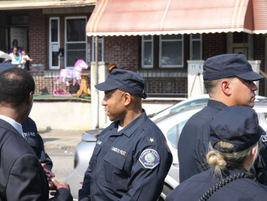 Camden County Police officers took over patrol duties on May 1.