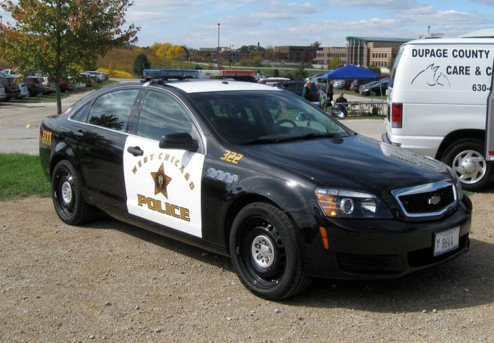 In-Service Cop Cars: Chevrolet Caprice