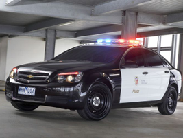 The 2011 Chevrolet Caprice PPV in black-and-white color scheme. The detective package (9C3) will...