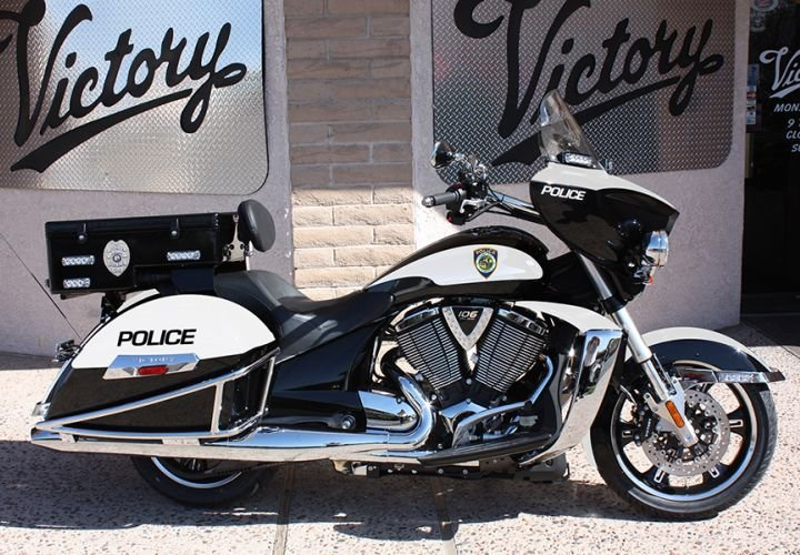 Victory Police Motorcycles