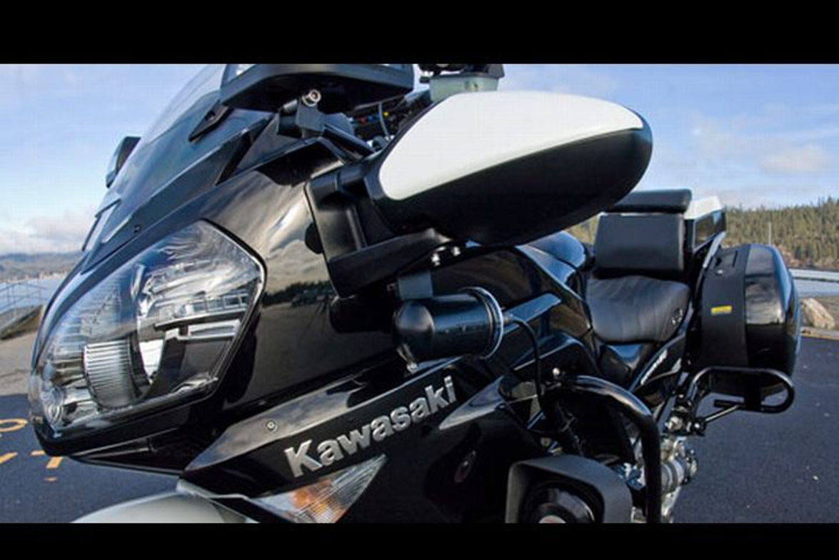 Kawasaki returned to the police motorcycle market with the Concours 14P, a sport touring model....
