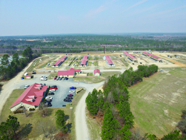 The K2 Solutions training facility covers 125 acres of grounds. (Photo: K2 Solutions)
