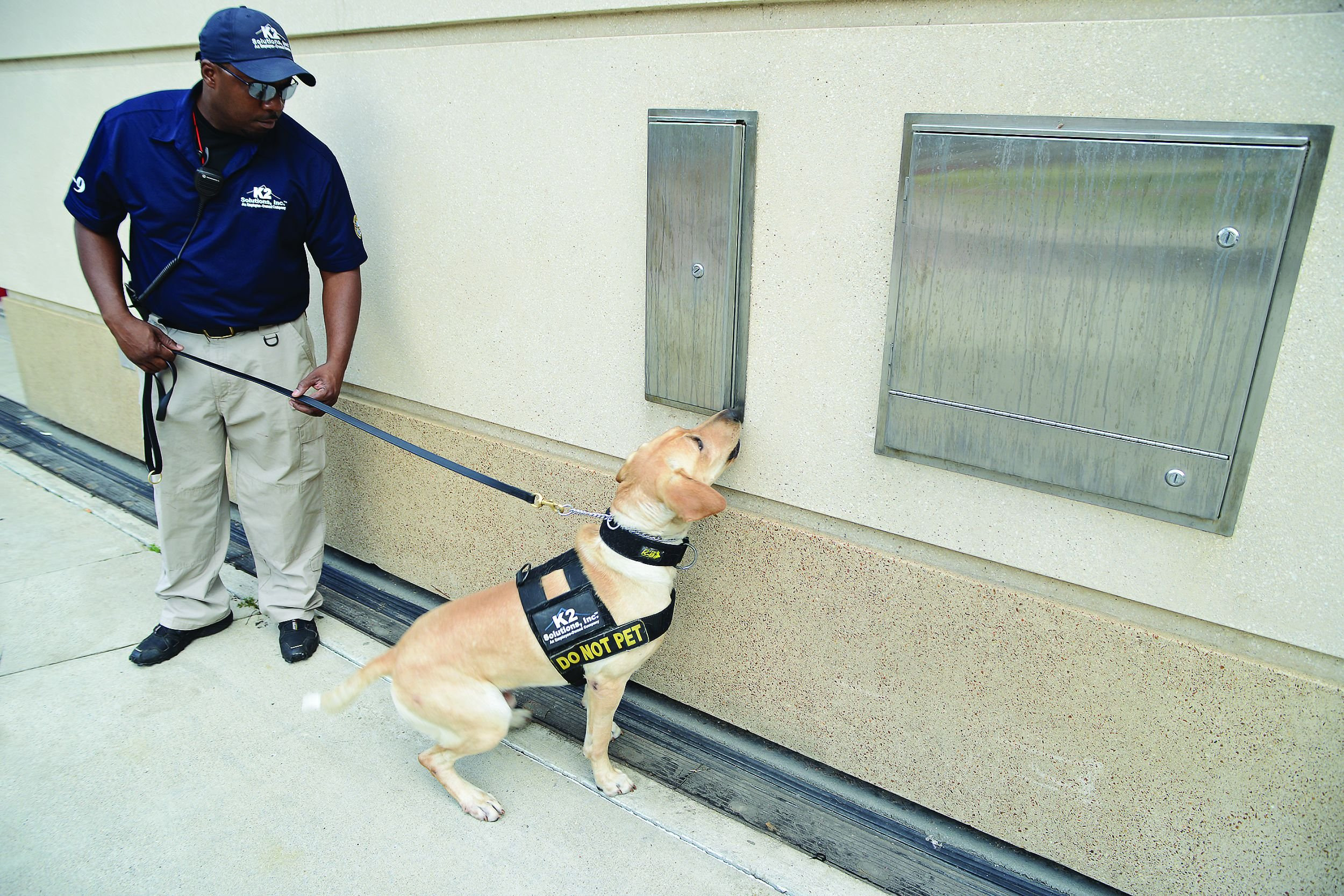 According to K2 Solutions Program Manager Karl Smith, searches by explosive detection dogs have...