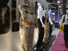 ATK's BlackHawk introduced a woman's apparel line that includes duty wear, tactical offerings,...
