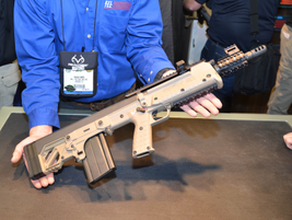 The Kel-Tec RFB is a bullpup carbine well suited to undercover work  or other law enforcement...