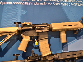 Smith & Wesson Corp. introduced two M&P rifles—the M&P15 MOE  Mid and M&P15 VTAC II—equipped...