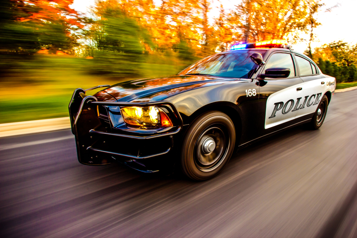 Greenfield (Wis.) PD's 2012 Dodge Charger. Photo: Jay Baumgardner.
