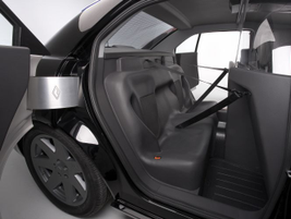 The vehicle's rear-hinged doors allow officers to more easily move a handcuffed prisoner in and...