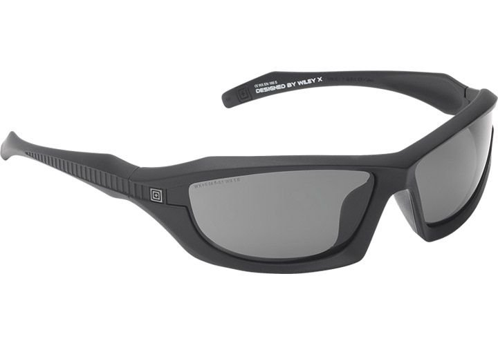 5.11 Tactical's Burner Full Frame Polarized Sunglasses offer ballistic protection and 99.9%...