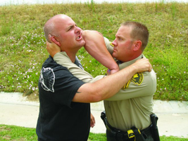 An effective elbow strike can devastate the suspect as a knock-out blow. The faster you can end...