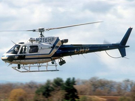 American Eurocopter's AS350, with a 360-nautical-mile range, is offered in the B2, more powerful...