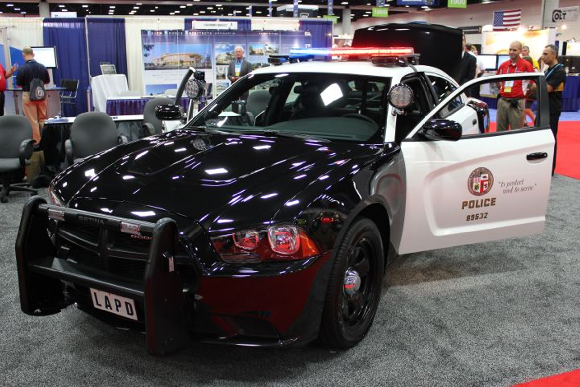 The Dodge Charger Pursuit gave IACP attendees a glimpse into a more connected future for...