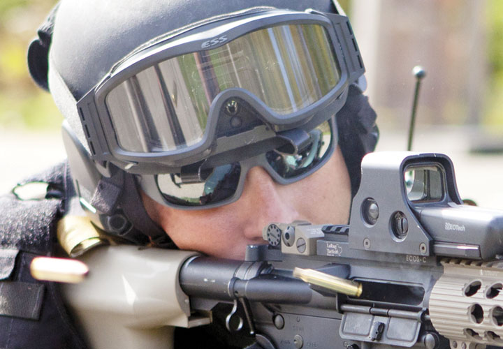 130511692082 The ESS Eyepro 5B protective sunglass features military-grade ballistic  lenses and ultra-light