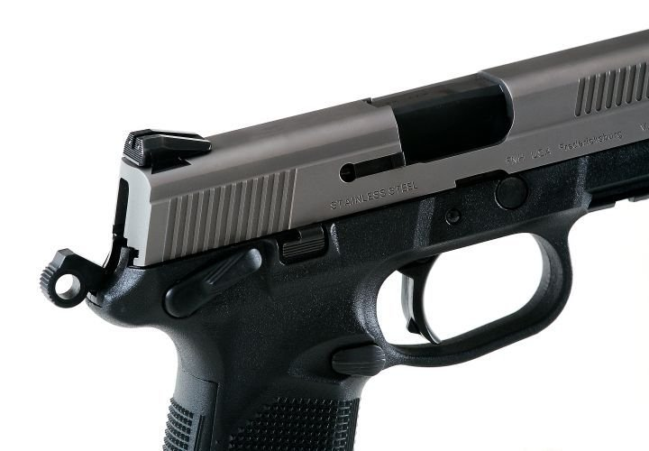 The FNX-45 is a double-action/single-action hammer-driven pistol.