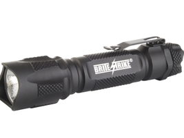 Brite-Strike's 340-lumen BDRC tactical rechargeable flashlight for 2013 is equipped with the...