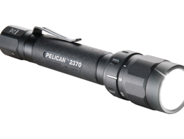 Pelican Products' 2370 LED multi-color flashlight features LED technology with four operating...