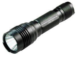 Producing 600 lumens and 16,000 candela, the Streamlight ProTac HL floods a dark alley, vehicle,...
