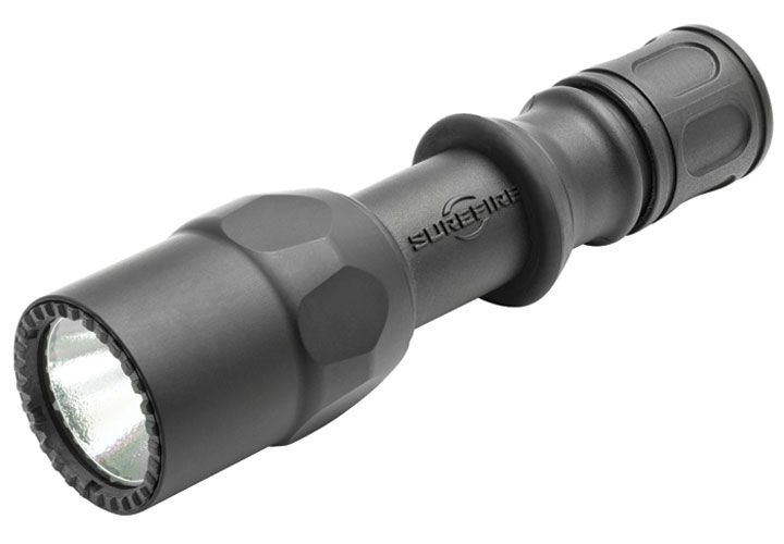 SureFire's single-output G2ZX, designed for tactical use, produces 200 lumens of brilliant white...