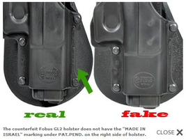 Counterfeit Police Products