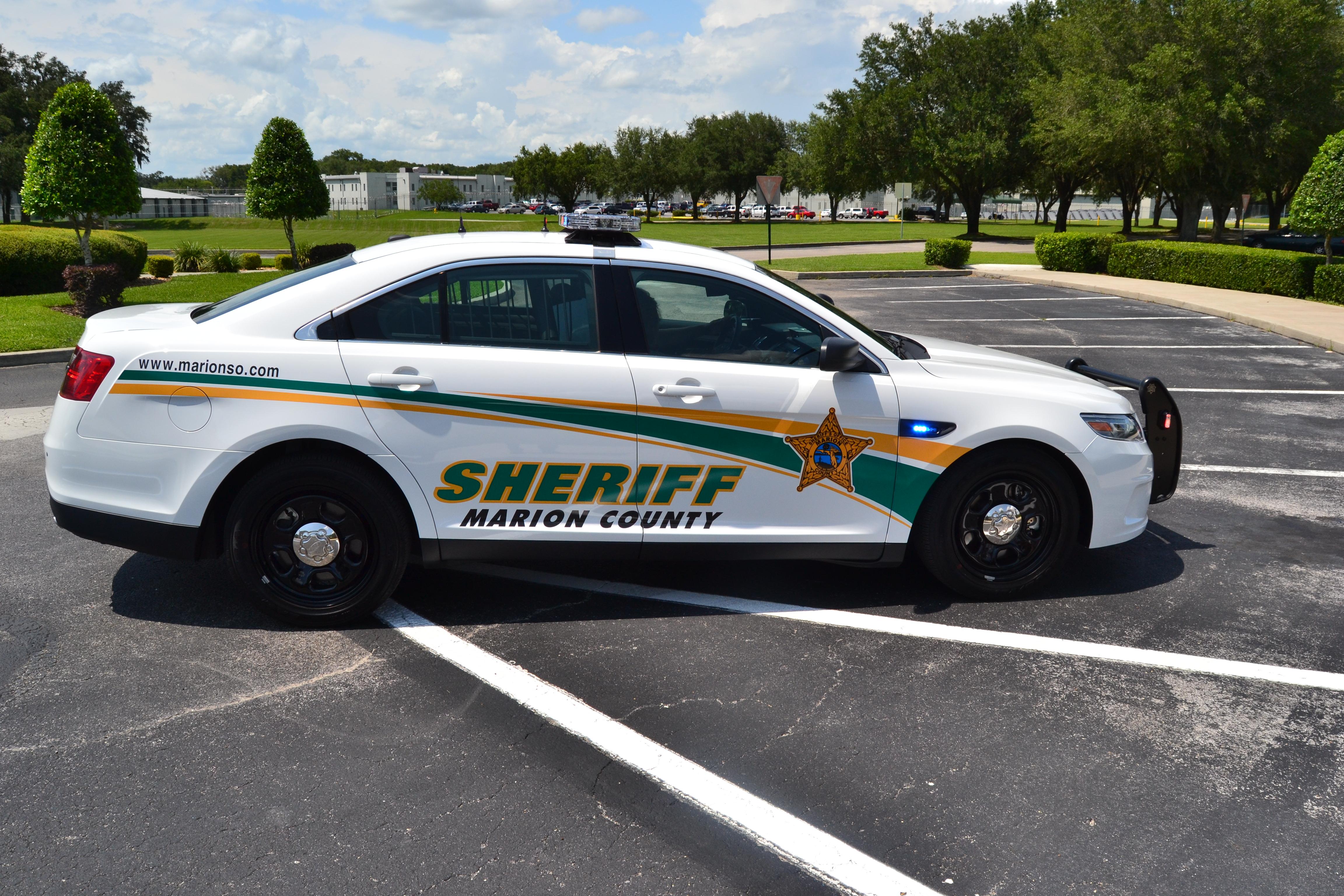 Sheriff S 2017 Ford Police Interceptor Sedan