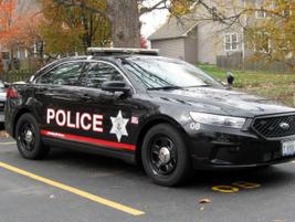 The Oswego (Ill.) PD's 2013 Ford Police Interceptor sedan. Photo: Christopher Holmes.