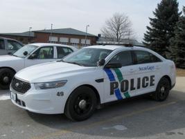 The Sugar Grove (Ill.) PD's 2013 Ford Police Interceptorsedan. Photo: Christopher Holmes.