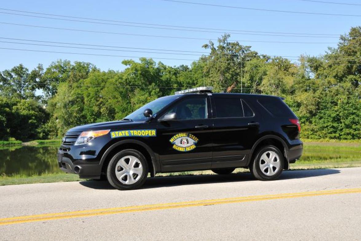 The Missouri State Highway Patrol's Ford Police Interceptor Utility.