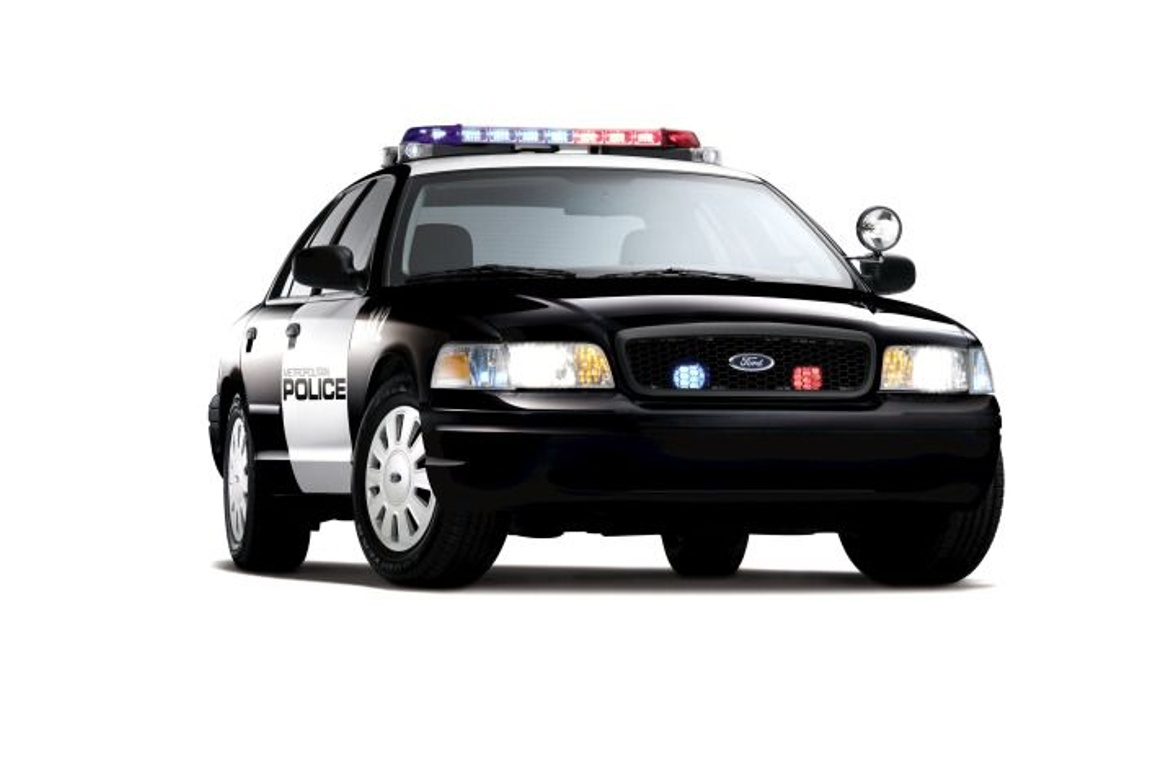 Ford's Crown Victoria Police Interceptor is the workhorse patrol car for both big-city and...
