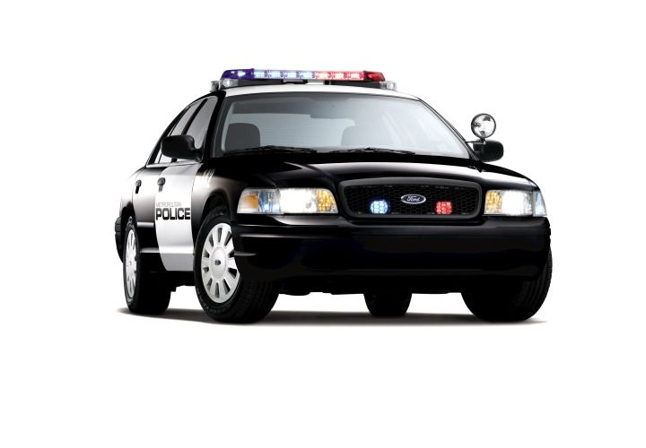 Ford Crown Vic Police Interceptor