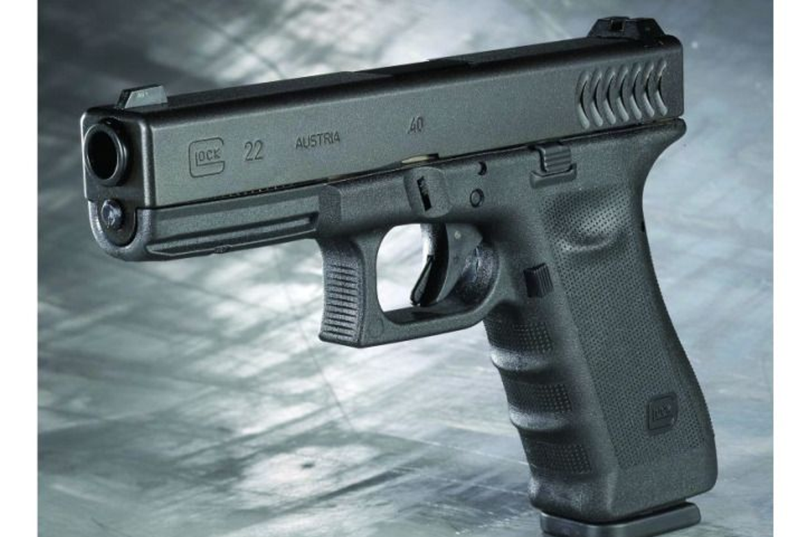 """This year, Glock unveiled the G22 RTF2. The """"RTF2"""" in G22 RTF2 stands for rough textured frame..."""
