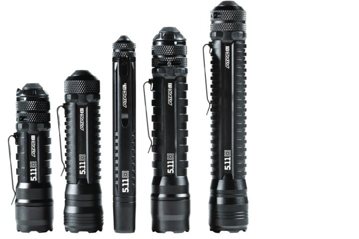 Law enforcement apparel maker 5.11 Tactical entered the flashlight market several years back...