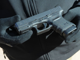 Glock'sG30S pistol offers a slim .45 ACP for tactical officers.