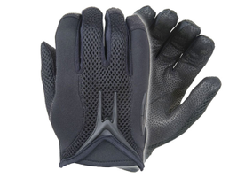 Model MX50 Viper unlined patrol gloves from Damascus feature thin, smooth, aniline laser-etched...