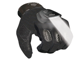 The Keep Light Glove integrates a streamlined LED lighting system into the fabric of a...