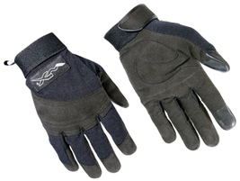 APX Gloves from Wiley X feature synthetic leather knuckle protectors and palms for maximum...