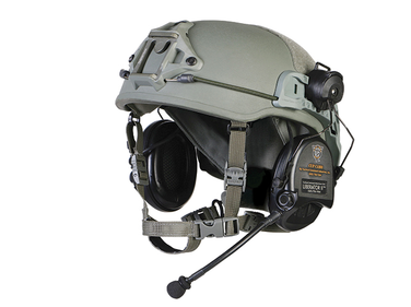 Weighing less than 2 pounds in a full coverage cut, the Delta X is the lightest ballistic helmet...