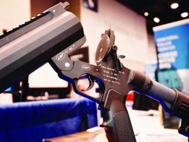 A.L.S. Technologies showed two new less-lethal grenade launchers at IACP, one in 37mm and one in...