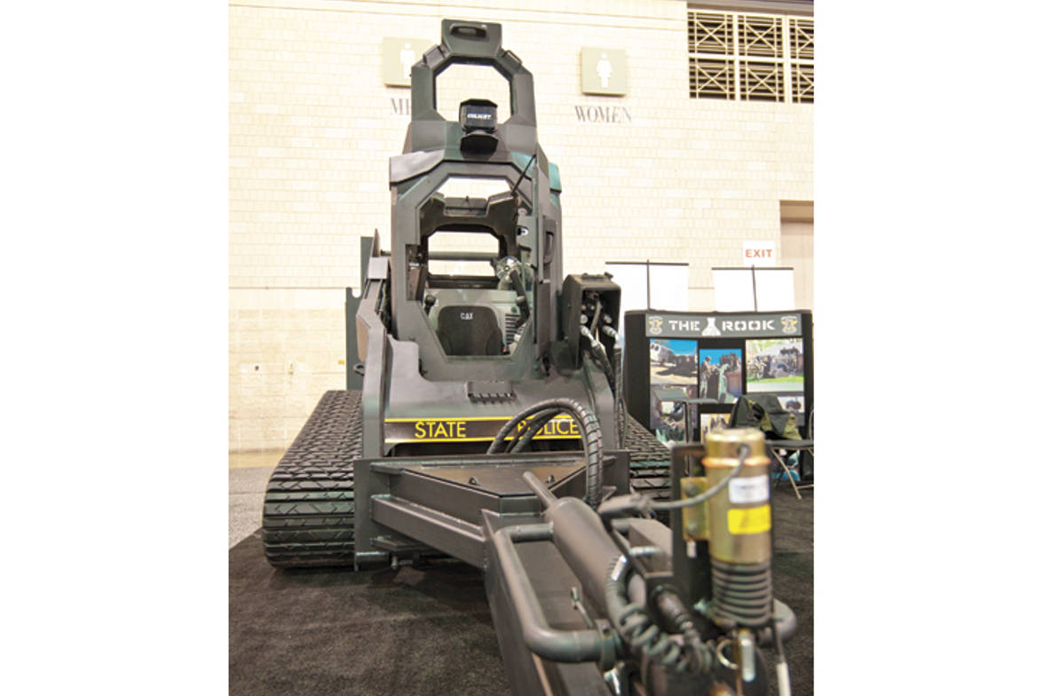 The Rook from Ring Power Tactical Solutions is a tracked armored vehicle that features NIJ Level...