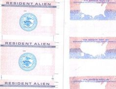 An often-forged document has been the Resident Alien Card issued by the U.S. Department of...