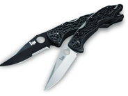 Benchmade's H&K Pika II uses 9Cr13CoMoV, which makes this 3.5-inch blade very corrosion...