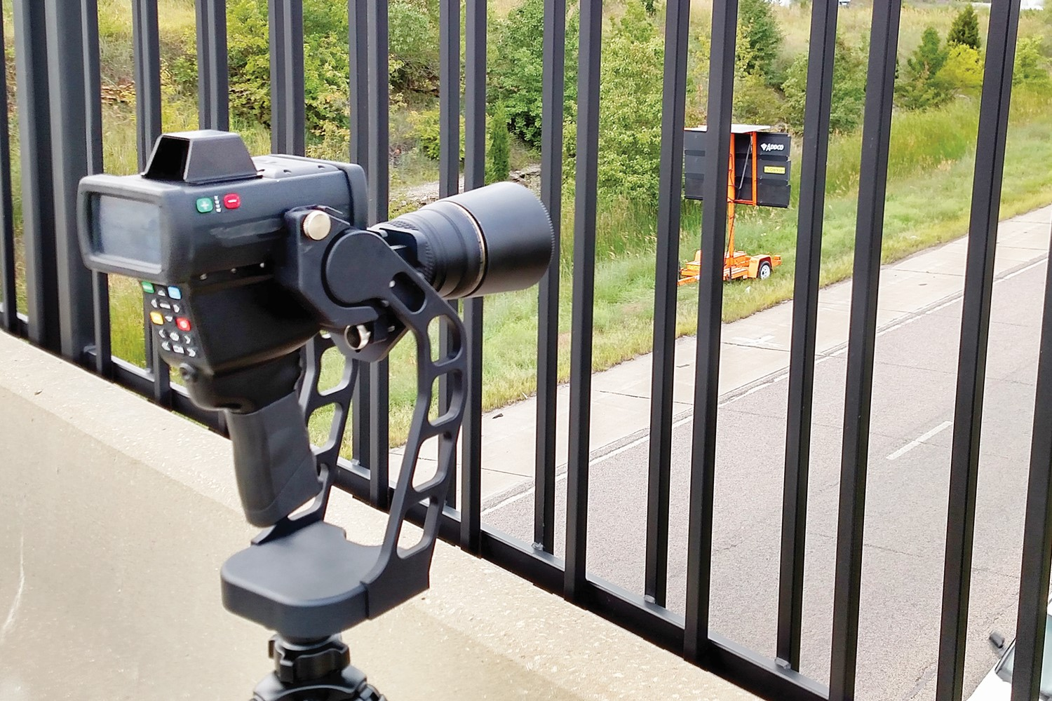 Kustom Signals Inc. is now shipping the LaserCam 4 LR for long range target tracking. The...