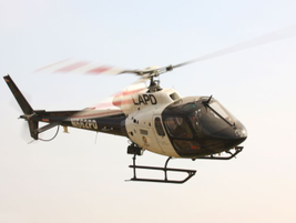 The LAPD's Air Support Division is made up of 18 AS350 copters and a fixed-wing King Air plane...