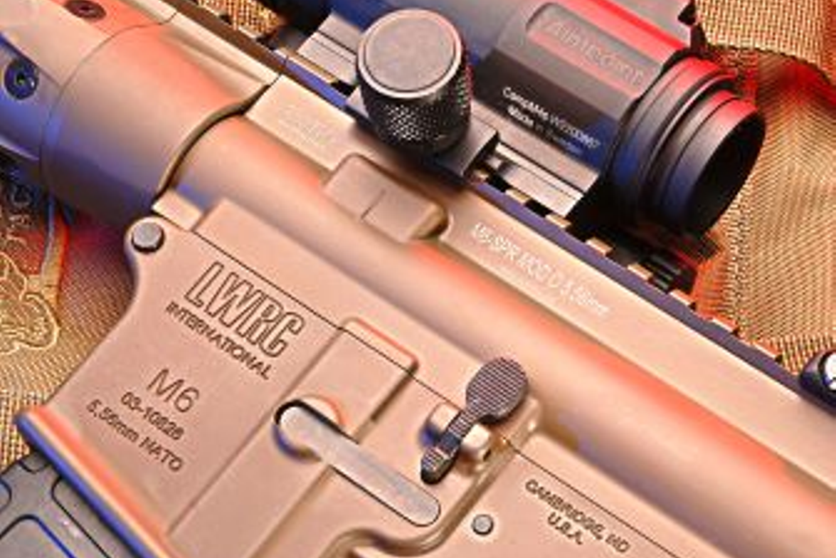 LWRC International's Special Purpose Rifle (SPR) is an M4 variant that operates with a clean...