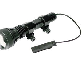 The Javelin 600 tactical flashlight from American Technologies Network  Corp. (ATN) can be hand...