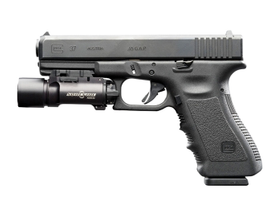 The SureFire X300 weapons light fits both handguns and long guns and  generates 170 lumens of...