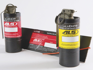 The ALSD429 is a single-use tactical stun munition that produces 175 dB at 7 feet, and emits 6...