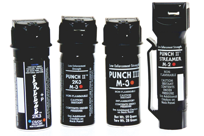 Aerko International makes several varieties of subject control sprays. Punch II is available as...