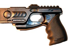 Phazzer'sEnforcer Conductive Energy Weapon (CEW) is a less-lethal law enforcement-level...