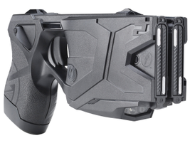 TheTASER X2 smart weapon features all-digital technology, self-diagnostics that monitor device...